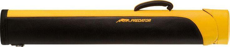 Predator Sport PREDSP24 2x4 Hard Cue Case Black/Yellow