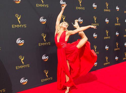 Jessie Graff at the Primetime Emmy Awards, September 18, 2016.                                                                                                                                                                                 More
