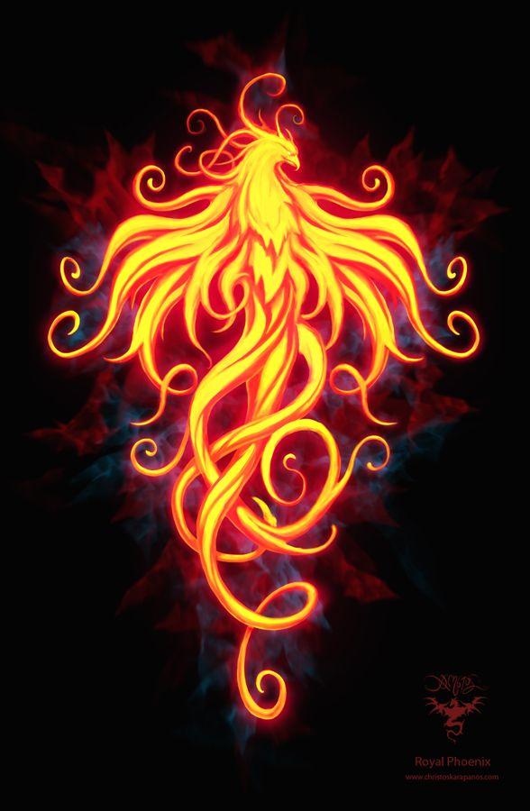Royal Phoenix by amorphisss.deviantart.com on @DeviantArt