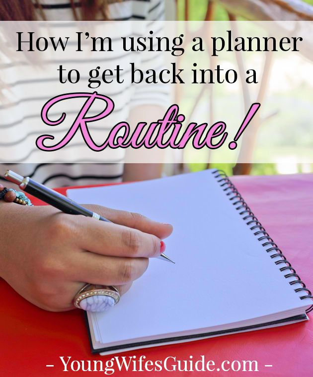 This summer I was taking it easy...but now I'm ready to jump back into the swing of things and get back into my daily routine. Here's how I'm using a planner to help me do it (plus a video look into the planner I use)!!