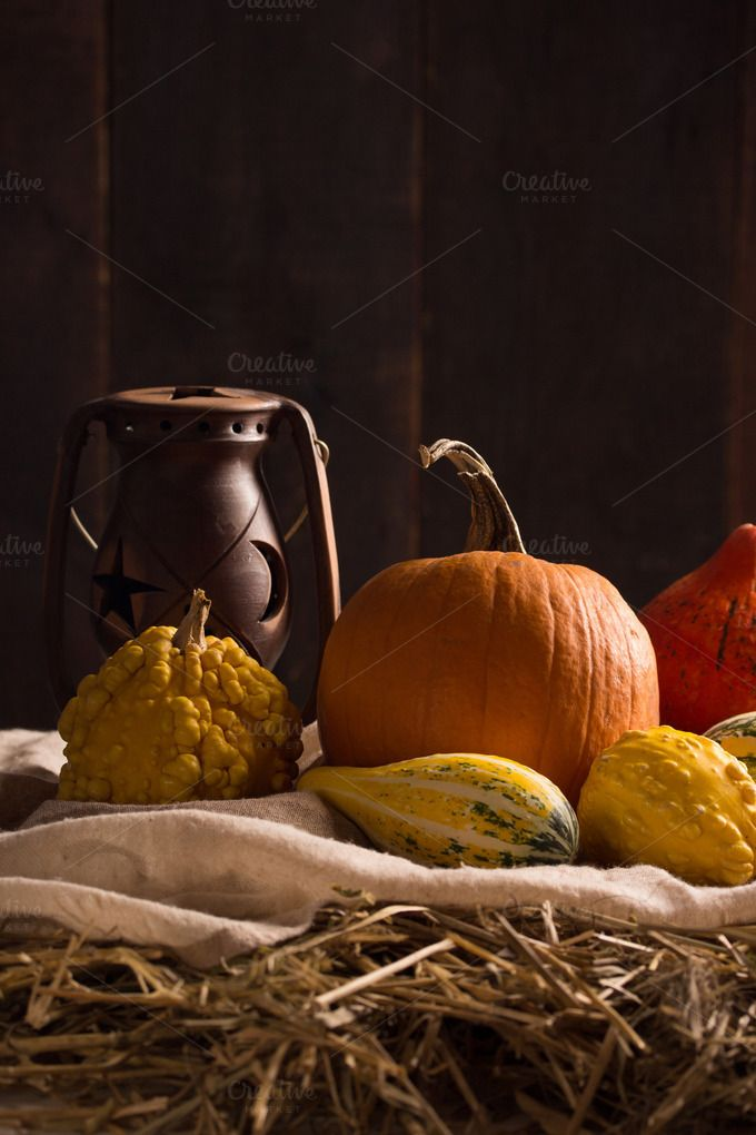 fall still life in a barn by peterzsuzsa on @creativemarket