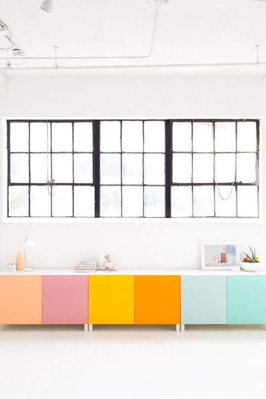 /// DIY color block storage.