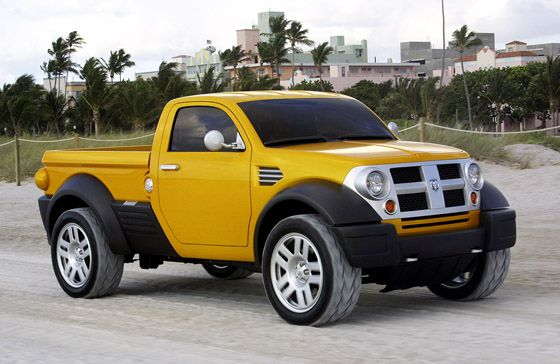 2015 Concept trucks | Chrysler Sees New Hope For Small Pickups. i would have to change the color to black or orange