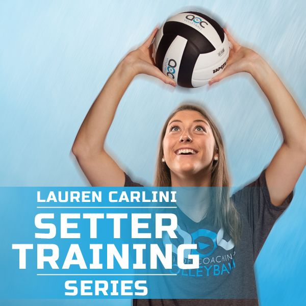 Setting Teaching The Fundamentals To A Young Player Volleyball Training Volleyball Workouts Coaching Volleyball