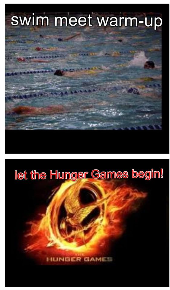 pre meet swim warm up