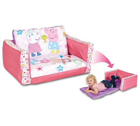 Sofa BedSleeper Sofa Buy Peppa Pig Junior Flip Out Sofa at Argos co uk visit Argos