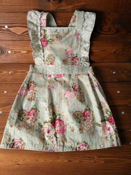 Одежда для девочек, ручной работы. Ярмарка Мастеров - ручная работа. Купить Детский фартучек в стиле винтаж. Handmade. Фартук