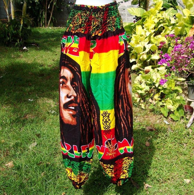 Rastafarian 2: Unisex Reggae Rasta Clothing Rastafari Fashion Print Boho