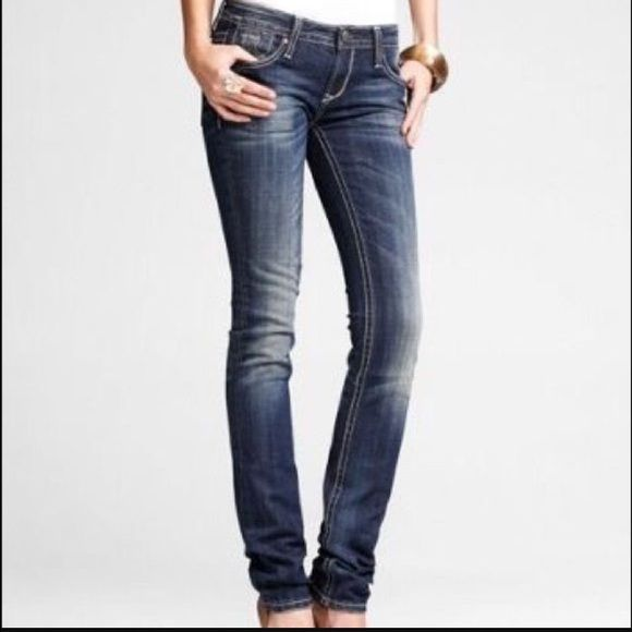 Express Rerock skinny jeans These jeans have been worn but in great condition! Express Jeans Skinny