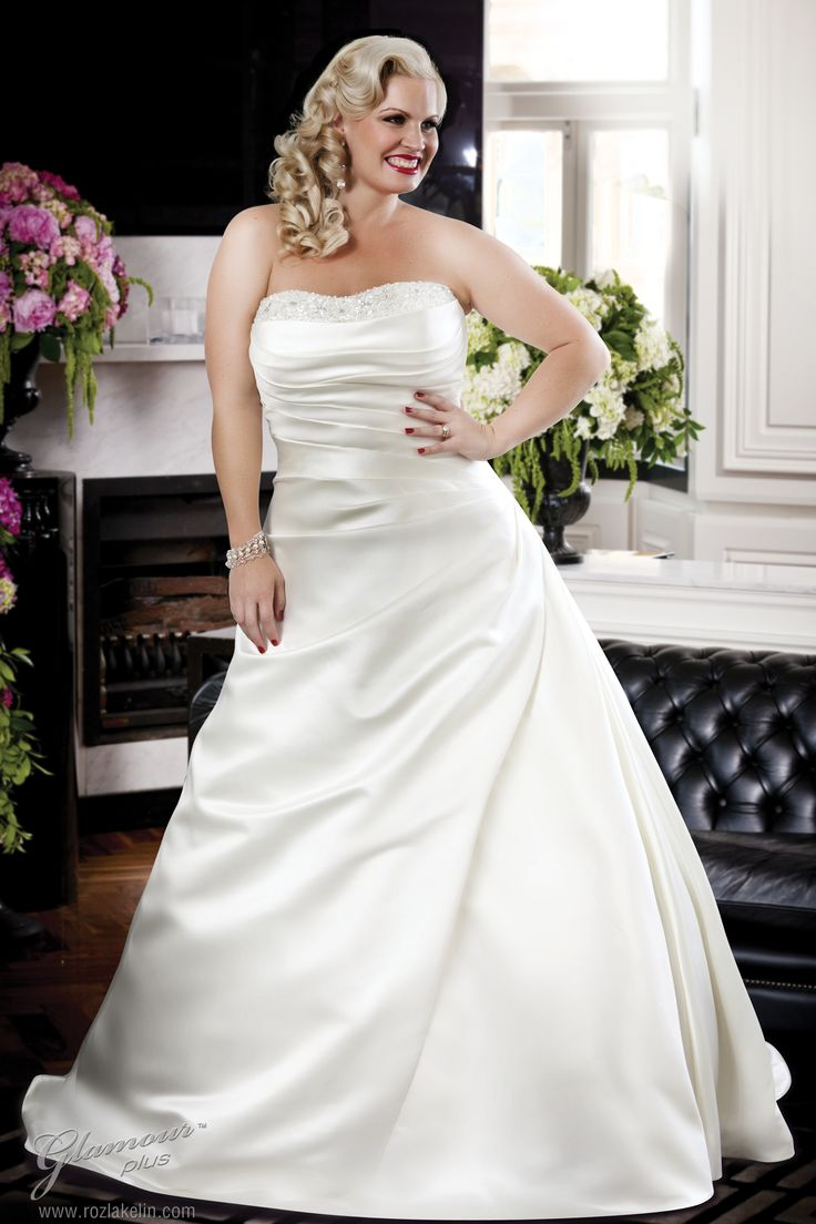 57 best Plus Size Wedding Dresses <3 images on Pinterest ...