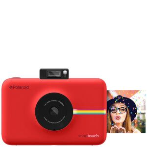 Polaroid Snap Touch Instant Digital Camera with LCD Touch Display - Red