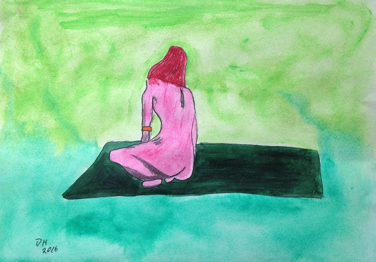 Life-drawing at Byron Bay's Dynamic Drawing.