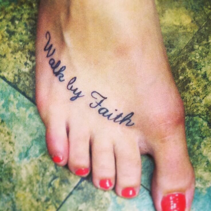 25 Best Ideas About Foot Tattoos On Pinterest: 25+ Best Ideas About Faith Foot Tattoos On Pinterest