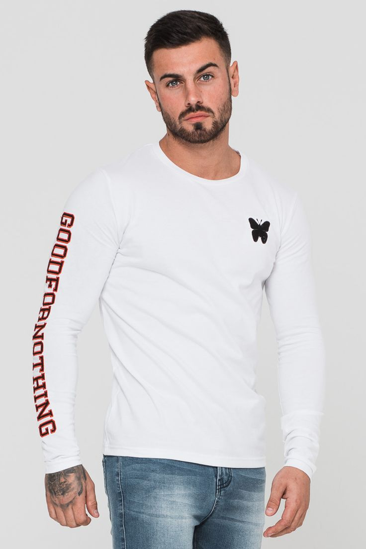 Supreme White Long Sleeve