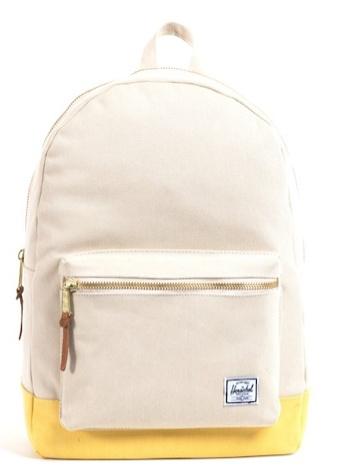 school, work, backpack, color block, yellow, Herschel Settlement Backpack, Herschel Backpack