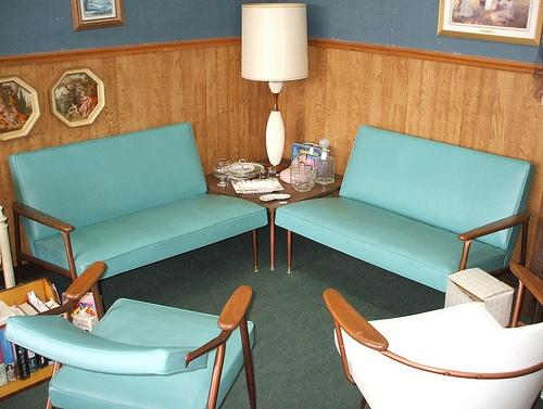 retro aqua loveMidcentury Modern, Century Eye, Living Rooms, Complete Living, Living Room Sets, Mid Century, Midcentury Future, Vintage Interiors, Modern Interiors