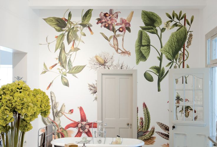 Beautiful wall paper by Cara Saven.