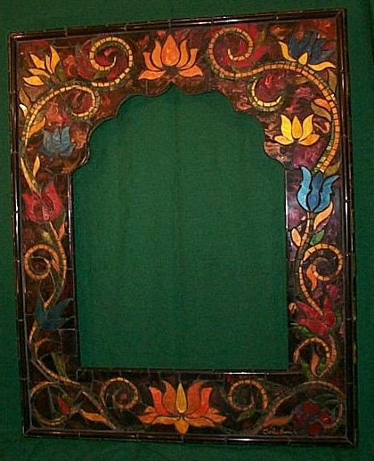 Decorative Tile Frames 309 Best Mozaik Images On Pinterest  Stained Glass Mosaic Glass