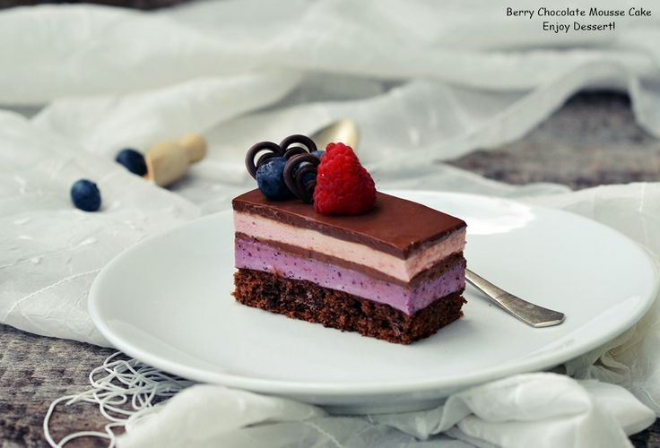 Berry Chocolate Mousse Cake