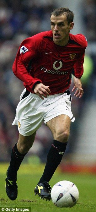 Phil Neville was appointed first team coach at Manchester United last summer