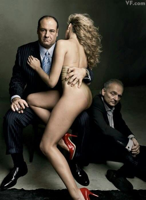 James Gandolfini/Annie Leibovitz(Vanity Fair)