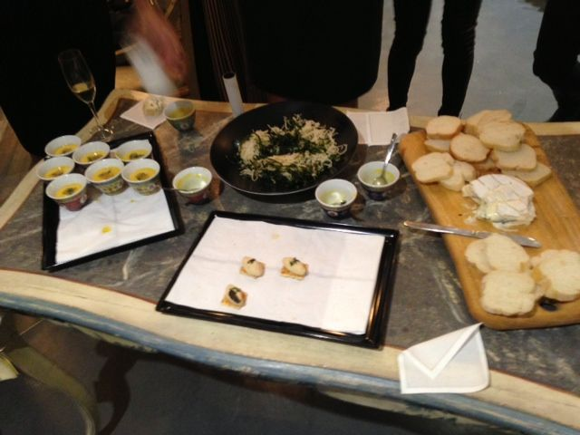 The great canape's were enjoyed very much. Thanks to Amanda and the truffle man www.frenchrendezvous.com.au