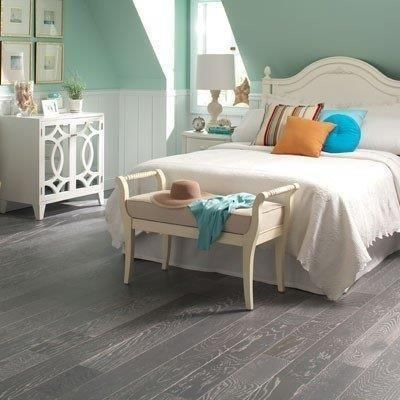 Blue Ridge Hardwood Flooring Oak Driftwood Wire Brushed 1
