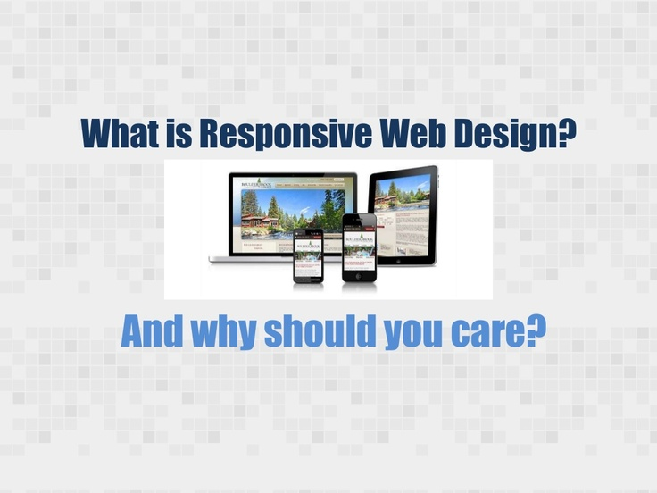 What is Responsive Web Design by QuantumCloud via Slideshare