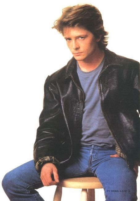 michael j fox in leather jacket - Yahoo Image Search Results