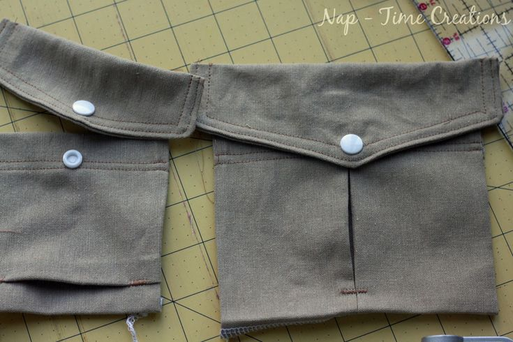This free cargo pocket pattern can be added to any pants pattern to make great cargo pants. Perfect for those boys who want lots of great pockets on their pants.