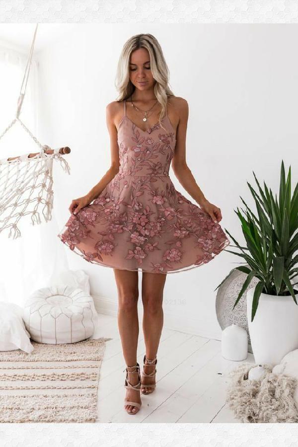 d06cda93cd795 Prom Dresses Cheap, Appliques Prom Dresses, Blush Prom Dresses, Homecoming  Dress A-Line #Appliques #Prom #Dresses #Blush #Cheap #Homecoming #Dress  #ALine ...