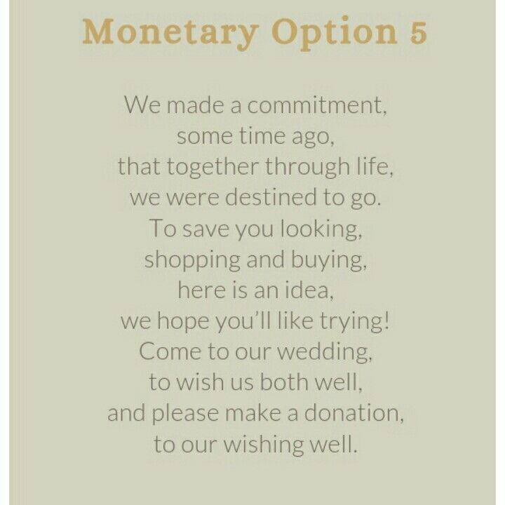 Wedding Invite Money Poem is amazing invitation layout