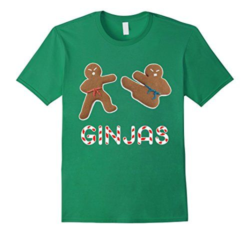 Ginjas Gingerbread Holiday Christmas Funny Sarcastic Fashion men women kids funny tshirt