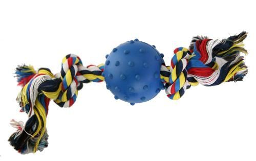 Have some fun with your pal while playing with this hard-wearing and colourful tug rope!