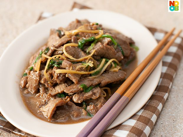 Ginger Scallions Beef Recipe