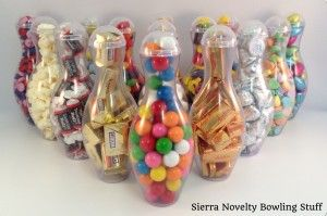 Mini Bowling Pin Candy Container - The Versatile Bowling Party Favor