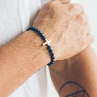 pulseira-masculina-em-pedra-lapis-lazuli-smith-rose-gold-key-design