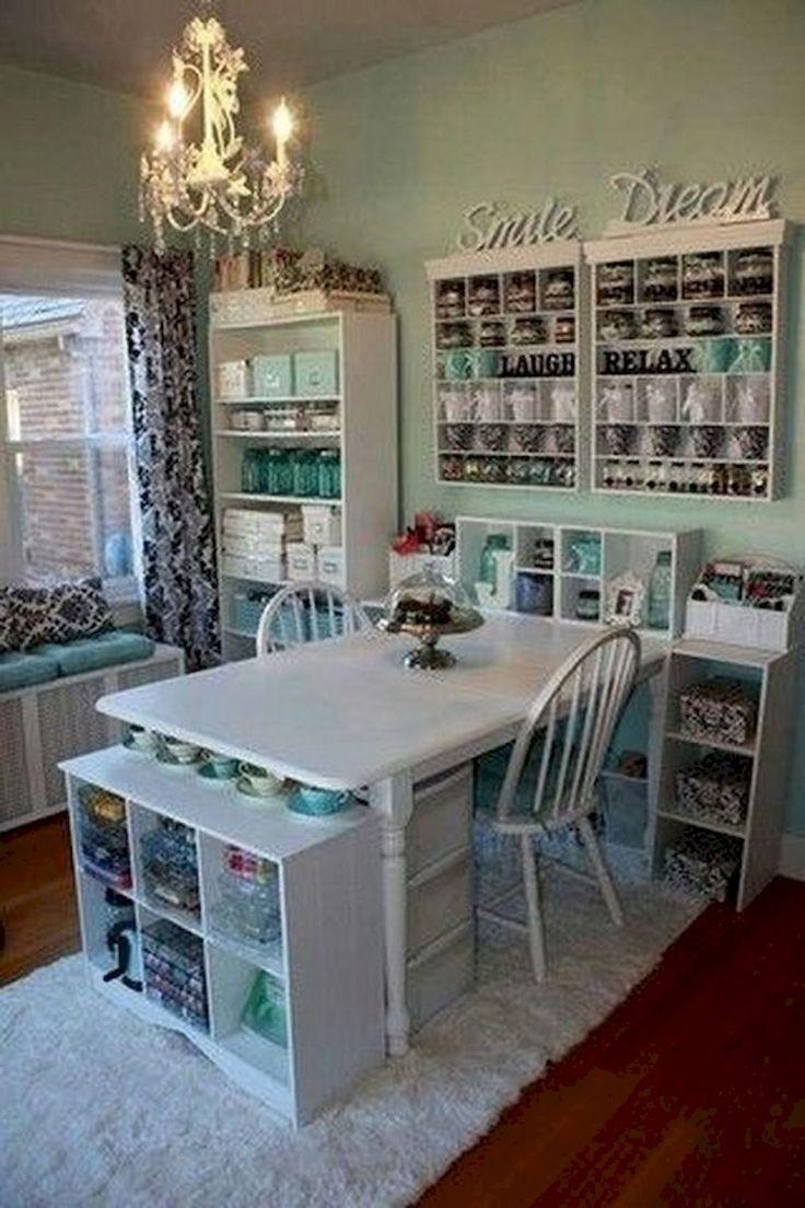 Magníficas 30 impresionantes ideas de diseño de salas de artesanía coachdecor.com / …
