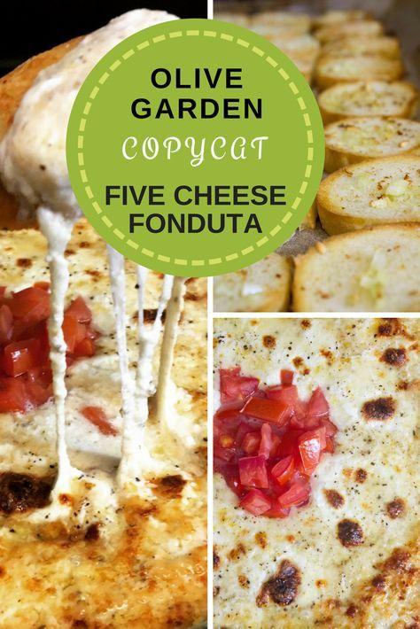 Copycat Olive Garden Five Cheese Fonduta | Recipe | me | Pinterest ...