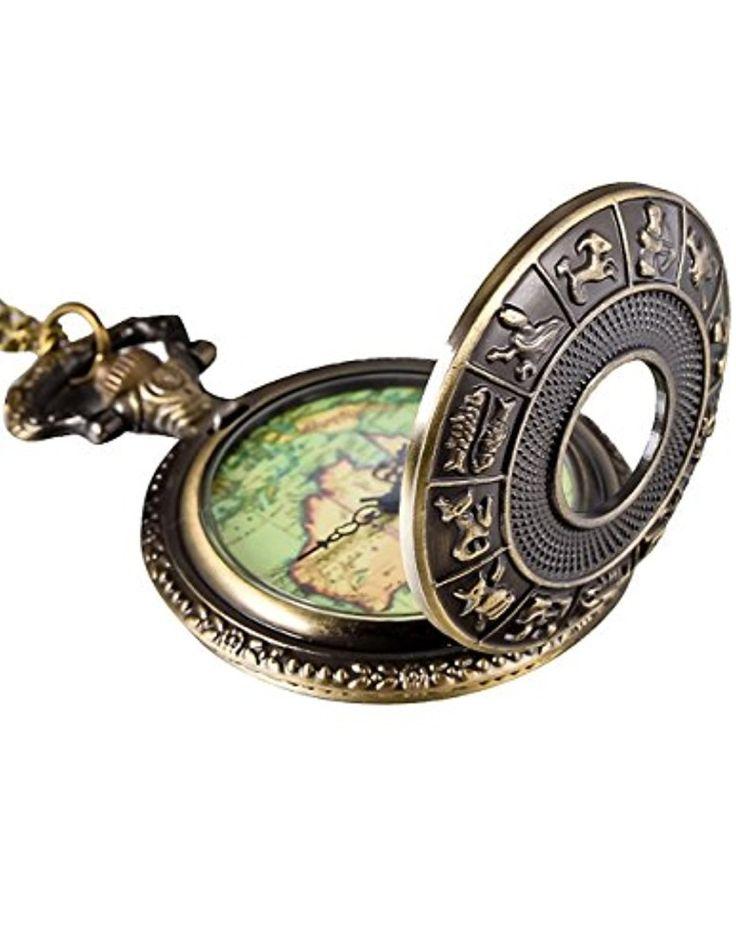 Mudder bronze 12 constellation montre de poche antique carte de la couverture 2017 #2017, #Montresdepocheetgoussets http://montre-luxe-homme.fr/mudder-bronze-12-constellation-montre-de-poche-antique-carte-de-la-couverture-2017/