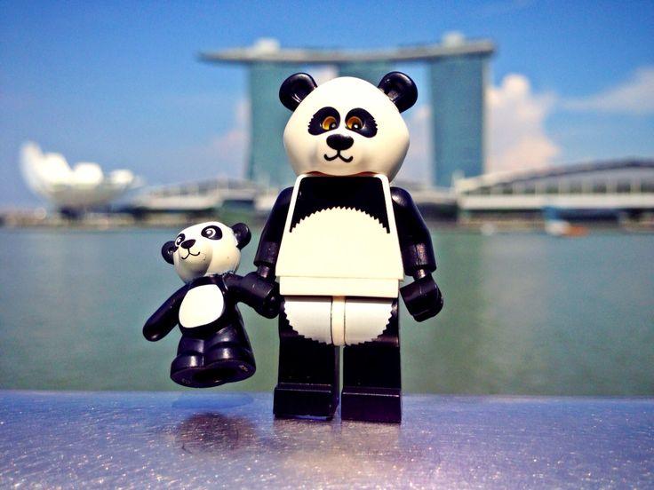 Panda Guy - Lego