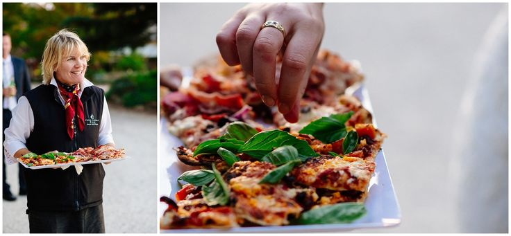 The courtyard is the perfect place to enjoy our wood oven pizza with some pre-dinner drinks!