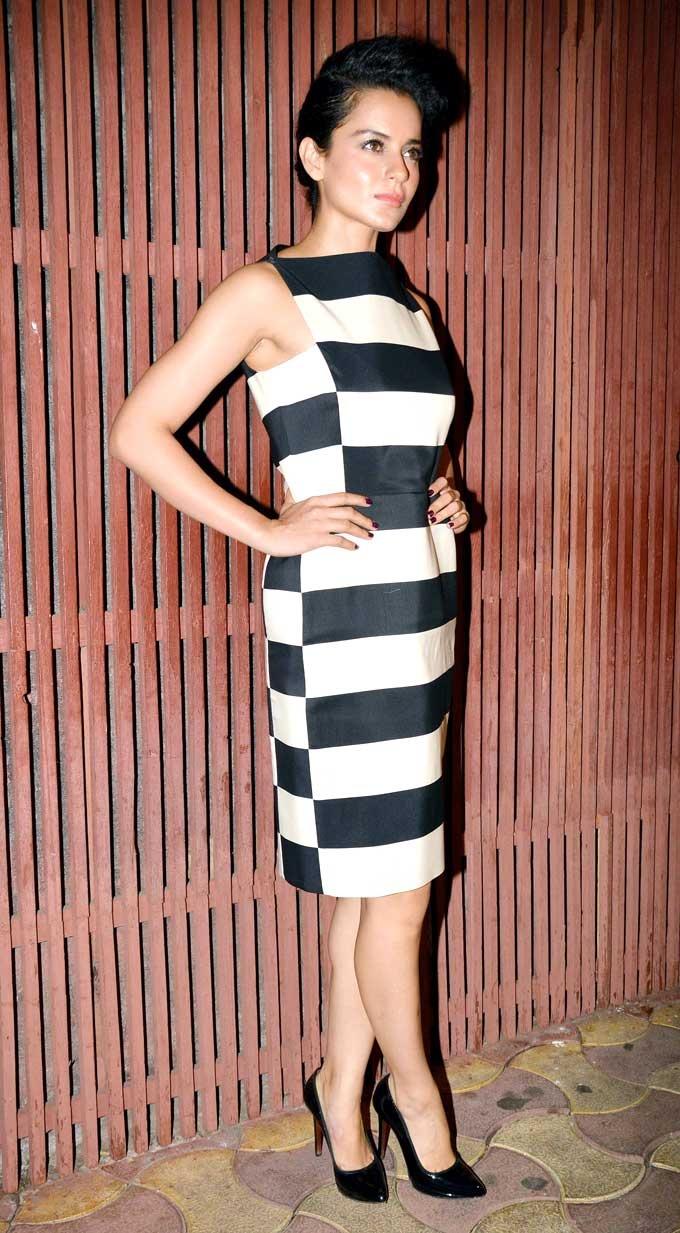 Kangna Ranaut at birthday bash #Bollywood #Fashion