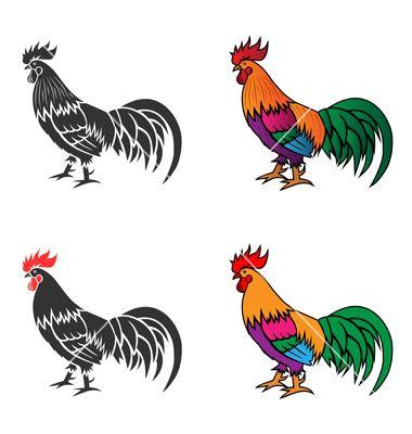Chicken 02 on VectorStock