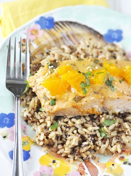 Super easy (but dang tasty) Salmon recipe by Jennifer Leal @Jennifer Leal #glutenfree