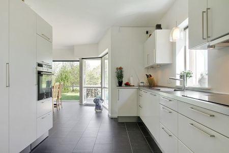 Cocina blanca y negra cocina pinterest search for Cocinas integrales negras