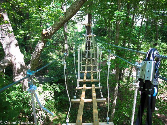 Treetop thrills at the Adventure Park in Virginia Beach - Casual Travelist