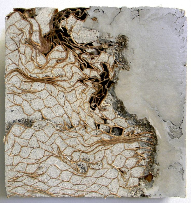 Storm--Concrete art by Marlies Hoevers.