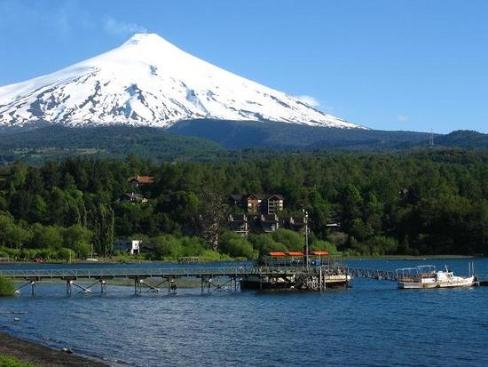 I climbed that!!! (Pucon, Chile)