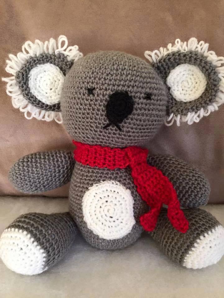 Handmade by Princesses II Homemade Crafts Koala soft toy: